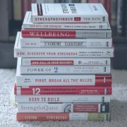 strengths books stack sara thomas coach