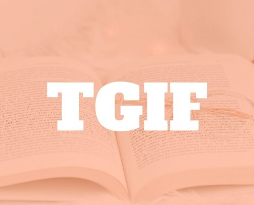 While for many people TGIF has come to be a title of the chapter to enter the weekend, it's a reminder to me of all that has happened and all that I want to have happen in the week ahead. Join me on the TGIF journey. #tgif #goals #resolutions #sarathomas Sara Thomas