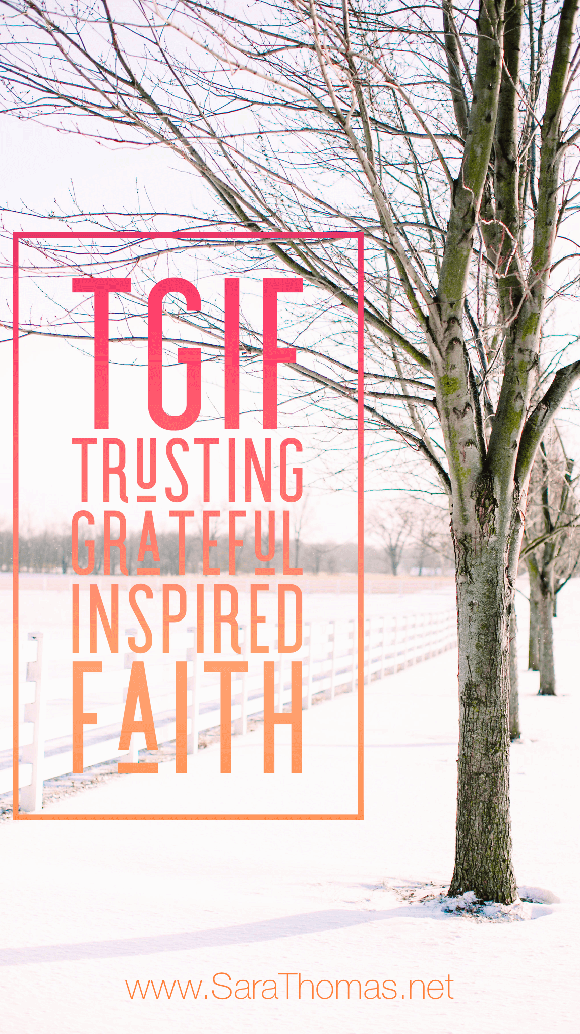 Trust. Gratitude. Inspiration. Faith. Here are four questions I'm exploring every week to stay focused on what matters the most. #trust #gratitude #inspiration #faith Sara Thomas