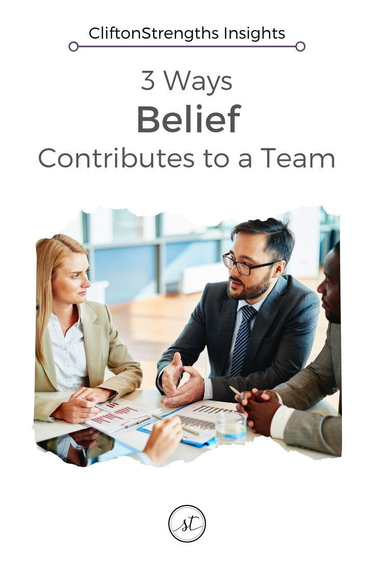 3 Contributions the Belief Talent Can Make on Teams Sara Thomas