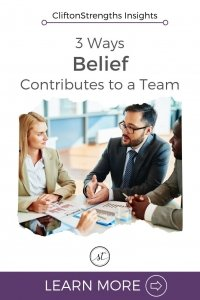 3 Contributions the Belief Talent Can Make on Teams