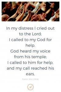 Psalm 18:6 Sara Thomas