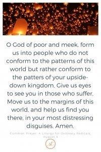 A Prayer for the Margins Sara Thomas